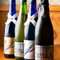 季節限定酒・大吟醸・生産限定酒など希少酒も豊富です