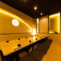 洗練され佇まいのVIPルームは、宴会の他、接待にも最適◎