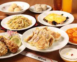 特選コース料理は3,240円(税込)から!