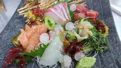 【新鮮魚介】 季節毎に楽しめる鮮度抜群のお魚♪