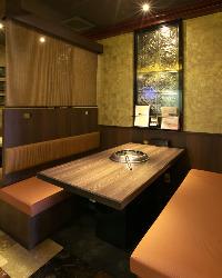 あたたかい雰囲気の店内でゆっくりとお食事をお楽しみください!