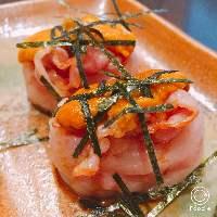 復活!!ウニの洋風寿司