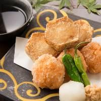 旬の味覚を寿司、一品料理で堪能!
