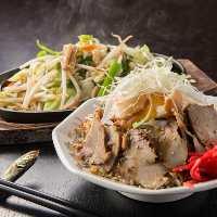 野菜炒め&チャー玉炒飯