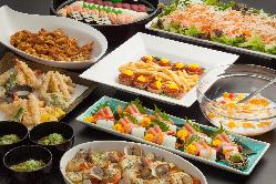 和食・洋食・中華・インドと種類豊富なメニューが楽しめます