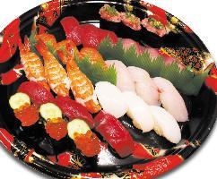 お寿司のテイクアウトが出来ます!ご予算に合わせて旬を握ります
