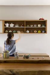 食器は主に九谷焼や山中塗りなどを使用しています。
