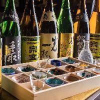 現地直送石川の地酒。伝統工芸「九谷焼き」の酒器でどうぞ