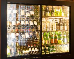 店主が富山の美味しいと思う地酒を取り揃え!プレミア酒もあり!!