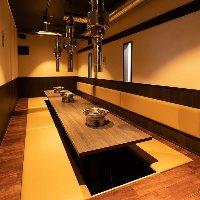 【歓送迎会に◎】 大小個室あり。飲み会や各種ご宴会に最適♪