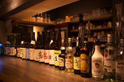 日本酒・梅酒・焼酎50種類をご用意!ドリンクが豊富!