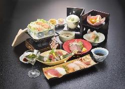会席料理 3,000円(税抜)よりご用意!