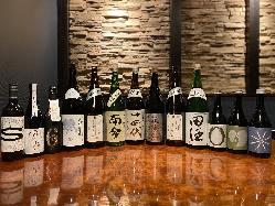 【日本酒】 新潟市では珍しい、日本中の銘酒を取り揃える
