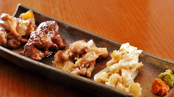 「徳島県産阿波尾鶏」を使用した店主こだわりの焼鳥。