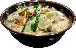 本場九州の味、野菜どっさりの「一竜ちゃんぽん」