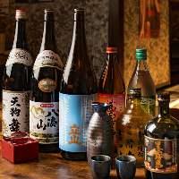 【豊富なドリンク】 日本酒、焼酎、サワーにビール等々