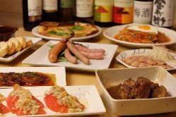 洋食一筋のシェフが作る特製本格料理の数々をご堪能ください。