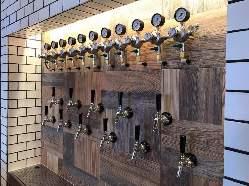 種類豊富なクラフトビールから、お好きな一杯をどうぞ!