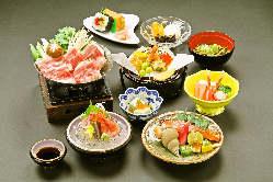 会席や一品、酒の肴など豊富なお料理が自慢です!