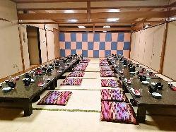 個室で楽しくご宴会!宴会場は4名様~108名様まで