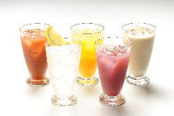 カクテルも日本酒も!お好みに合わせてお楽しみください!