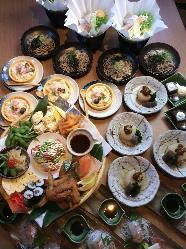 """""""和食コース"""" 当店自慢のお料理をご堪能いただけるコース料理"""