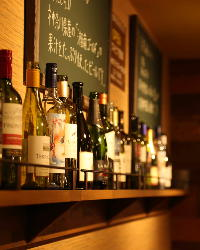 ビールはもちろん、カクテルやワインも豊富に揃えております◎