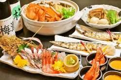 馬肉と海鮮をはじめ、上質な旬の食材にこだわっております!