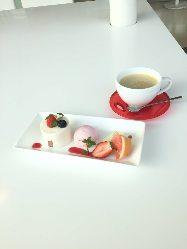 こだわりの紅茶と美味しいケーキで午後のひとときをごゆっくり♪
