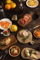 シュラスコグリルスタイルのお料理が堪能できるコース多数!