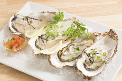産地直送◎新鮮な牡蠣を使用した当店一押しメニュー多数!