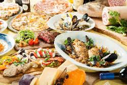 女子会や各種パーティにも最適なコース料理を4種類ご用意!