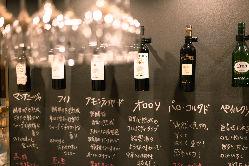 甘口から辛口までのシェリー酒を各種ご用意しております
