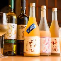 ◆カクテル◆ 果肉が入った日本酒で作るオリジナルカクテル