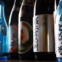 新潟の日本酒も多数取り揃えております♪