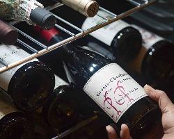 自然派ワインやシャンパーニュなどのこだわりワインが楽しめます