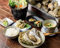 蒸し牡蠣コースには牡蠣鍋もお付けできますのでぜひ!