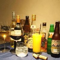 少人数パーティーにおすすめ飲み放題付きプランもご用意。