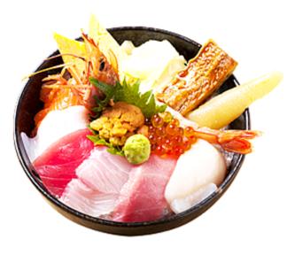 海鲜丼まるきた1号