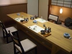 くつろぐテーブル席 完全個室