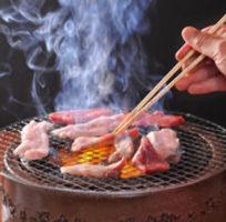 七輪炭火で味わいください!