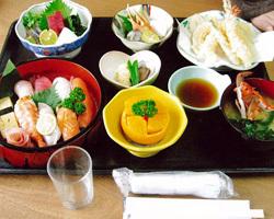 まんぷく寿司定食 2500円