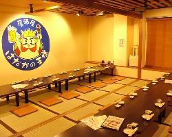 【宴会にピッタリ】最大40名様までOKの大小様々な個室あり。