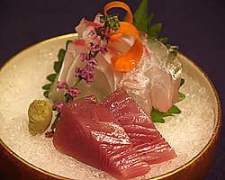【海の幸】 厳選食材を使用したお造り