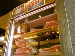 店内でしっかり熟成したお肉をご提供しております。