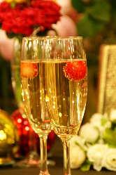 記念日にシャンパンで乾杯 800円〜