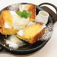 デザートまで美味しい!あつあつの鉄板フレンチトースト
