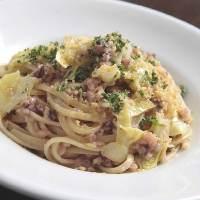 パスタ麺やソースはすべて手作りというこだわりの料理。