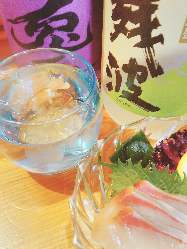 ちょい飲みも大歓迎◎お酒のバリエーションも豊富です。