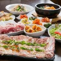 本格的な韓国料理でご宴会♪⇒4,000円(税込)~